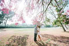 ENGAGEMENT: SAMMIE AND JEFF | Intertwined Events |  Michelle Beller  Engagement, Bride and Groom, Kiss