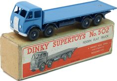 DINKY #502 FODEN type 1  flat truck