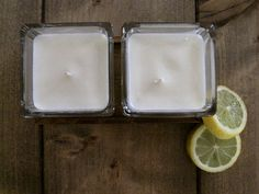 Soy Wax Candles Lime Bergamot Citrus 4oz di EstherEssenceCandles