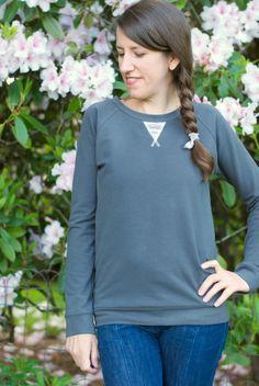 Another Lane Raglan Sweatshirt