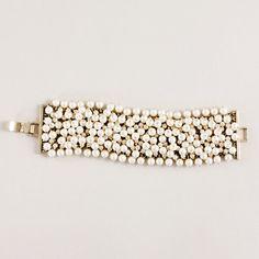 Pearl cluster bracelet - jewelry - Women's new arrivals - J.Crew