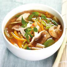 Asiatische Gemüsesuppe (0 PP)