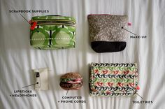 Packing Tips: Pack in Pouches