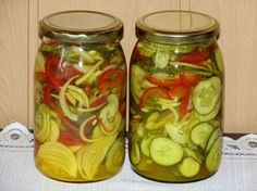 Curry, Tzatziki, Fermented Foods, Beets, Preserves, Pickles, Cucumber, Mason Jars, Food And Drink