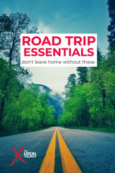 Planning a road trip? Don't leave without packing these necessary items. These road trip essentials will make your adventure more comfortable, more affordable, and safer. #roadtrips #roadtrippackingtips #packingtips Great American Road Trip, Dont Leave, Us Road Trip, Road Trip Essentials, Route 66, The Locals, Ocean, Adventure, Packing