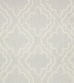 Hudson 43 Solid Fabric-Chaucer White on White