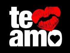 Declaração de amor: Te amo!