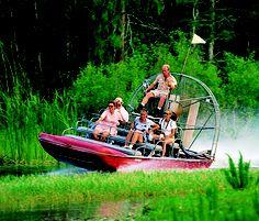 Swamp Buggy Tour at Billie Swamp Safari