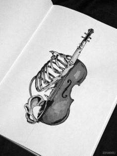 tattoo idea-treble clef instead though