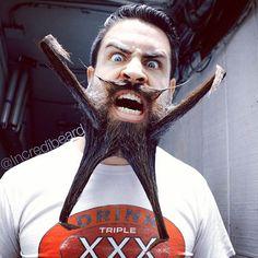 Estilos de barba creativos, por Mr. Incredibeard - Cultura Inquieta
