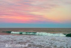 Crazy pastel colors in both the water and sky tonight.