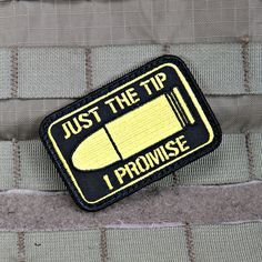 Just The Tip Morale Patch