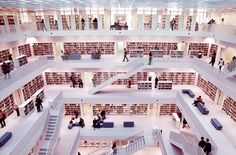 Stuttgart Library*** (D). by bartek.langer, via Flickr