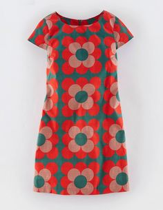 Harriet Shift Tunic Dress Day Dresses at Boden Mod Fashion, 1960s Fashion, Plus Size Fashion, Vintage Fashion, Korean Fashion, Fashion Ideas, Fashion Tips, Day Dresses, Casual Dresses