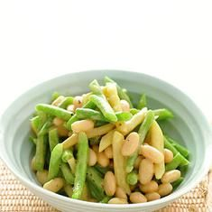 Three-bean Salad With Vinaigrette (via www.foodily.com/r/Hp5dYQJu3)