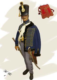 1th Hussars Field - Emperor Franz