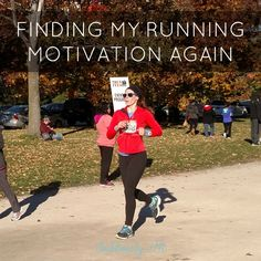 Finding My Running Motivation Again