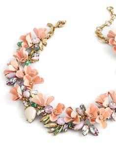 We love J.Crew's playfully bold Mardi Gras necklace. Bejeweled | Women's Jewelry | Galleria Dallas