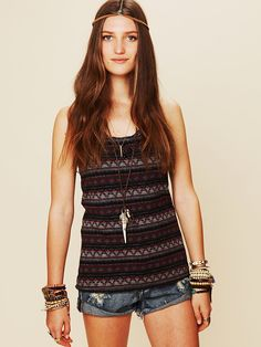 Free People Ethnic Jacquard Tunic at Free People Clothing Boutique