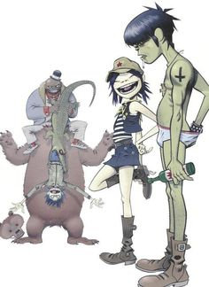 Gorillaz, love them:)