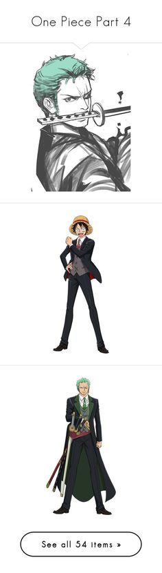 """""""One Piece Part 4"""" by drskullz on Polyvore featuring anime, one piece, swimwear, one-piece swimsuits, one piece swimsuit, 1 piece swimwear, 1 piece swimsuit, one-piece swimwear, one piece swim wear and luffy"""