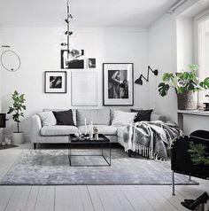 "Gefällt 321 Mal, 9 Kommentare - Scandinavian Interior (@interioraddictions) auf Instagram: ""When I styled the home of sweet @angelicablick Love love love this apartment ❥"""