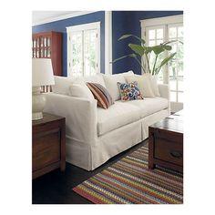 urban farmgirl: drumroll please...the sofa results crate & barrel Willow sofa