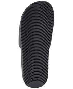 5c04ccaaf9c Nike Men s Kawa Slide Sandals from Finish Line - Black 8 Black 13