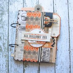 All Hallow's Eve Mini album from MME blog by Monkia