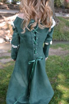 Merida, Brave Costume Dress. $125,00, via Etsy.