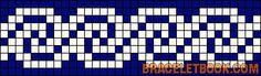 Alpha Pattern added by Mariutza Cross Stitch Sea, Cross Stitch Bookmarks, Cross Stitch Borders, Cross Stitch Patterns, Embroidery Alphabet, Folk Embroidery, Loom Beading, Beading Patterns, Knitting Charts