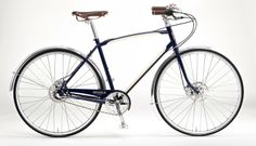 Gorgeous men's bike, The Bixby, made in Detroit by Shinola. The same company that makes handmade watches. $2000, but worth every penny. American made steel frame and fork! These wonderful bikes are available in Minneapolis at Angry Catfish bike shop.