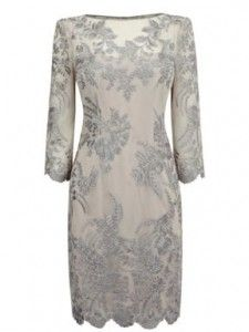 Karen Millen lace and embroidery dress image