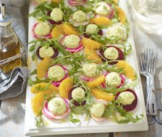 Beet and pine nut 'houmous' salad Easy Salad Recipes, Easy Salads, Hummus Salad, Beetroot Recipes, Good Housekeeping, How To Make Salad, Beets, Superfood, A Food