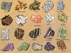 gemstones illustration