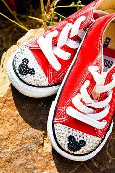 DIY Bling Sneakers