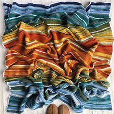 Ravelry: Knitalieco's 2017 Crochet Temperature Blanket