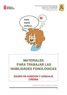 Habilidades fonologicas by Pili Fernández, via Slideshare