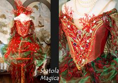 Corsetto e gabbietta fantasia by Scatola Magica
