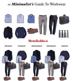 "2,894 Likes, 7 Comments - MEN'S FASHION (@mensfashio.n) on Instagram: ""The minimalistic guide to workwear ! What do you think of this !? Follow us for more @mensfashio.n"""