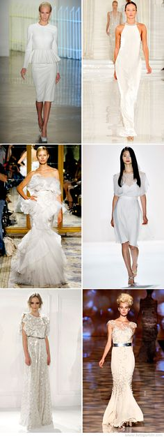 Fashion Week 2011 Love the middle right and bottom right!