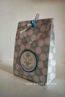 Stampin'Up! Auf die Geschenke fertig los, Stampin'Up Designerpapier, Verpackung, Weihnachten, Glöckchen,