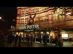 The Palace Theatre - Harry Potter and the Cursed Child - YouTube