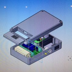 Receiver box. #modeling #cad #компас3d #ардуино #arduinoproject #arduino #electronics #engineering by shipbuilder5