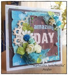 Scrap & Craft cad using products from www.scrapandcraft.co.uk #cards #crafts #doily #flowers