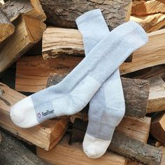 These socks don't mess around: they're made for bone-chilling days and frigid nights (20ºF and below). Soft, heavyweight Merino wool blend wicks away moisture to keep your feet dry and comfortable.