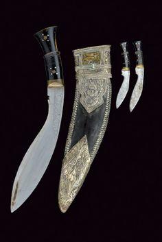 kukri with scabbard