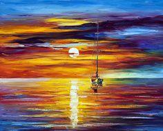 BY THE SUNSET - Oil painting by Leonid Afremov. One day offer - $99 include shipping https://afremov.com/BY-THE-SUNSET-PALETTE-KNIFE-Oil-Painting-On-Canvas-By-Leonid-Afremov-Size-24x30.html?bid=1&partner=20921&utm_medium=/offer&utm_campaign=v-ADD-YOUR&utm_source=s-offer