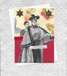 Funny Get Well Card for Shoe Lovers   Vintage Style by rhodyart