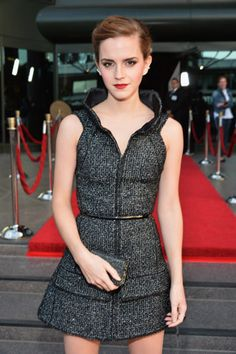 Emma Watson arrives at the 'The Bling Ring' - Los Angeles Premiere at Directors Guild Of America on June 4, 2013 in Los Angeles.